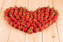 草莓框架 图库摄影