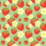 草莓模式 库存照片