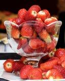 草莓欢欣 免版税库存图片