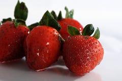 草莓甜点 库存图片