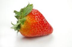 草莓白色 免版税库存图片