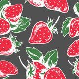 草莓的样式 库存图片