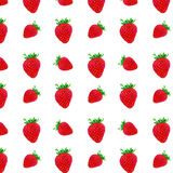 草莓的样式 库存照片