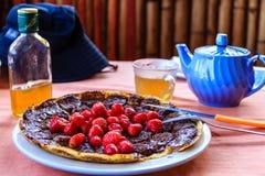 草莓薄煎饼,缅甸的(Burmar) inle湖 免版税库存照片