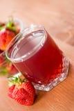 草莓蜜饯 库存照片