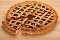 草莓酱馅饼 免版税库存图片