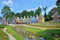 草莓镇是山的起源 免版税库存图片