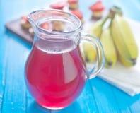 草莓饮料 免版税图库摄影