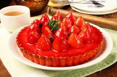 草莓饼 免版税库存照片
