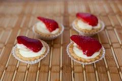 草莓饼 图库摄影