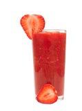 草莓鸡尾酒 图库摄影