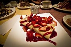 草莓绉纱 库存照片