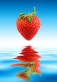 草莓水 库存照片