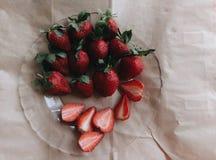 仅草莓 免版税库存照片