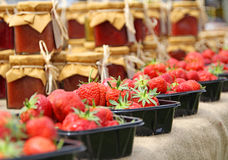 草莓fayre 免版税库存照片