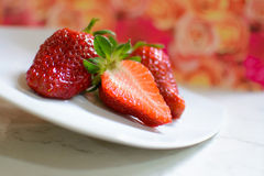 草莓Fragole 免版税库存图片