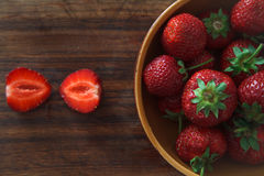 草莓IV 库存照片