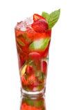 草莓Mojito 库存图片
