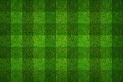 绿草足球场背景的样式纹理 免版税库存图片