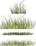 草边界 免版税图库摄影