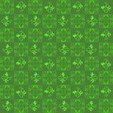 草绿色样式抽象图形设计墙纸 免版税库存照片
