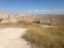 荒地国家公园 库存照片
