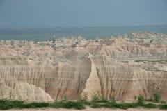 荒地国家在公园视图 库存图片