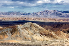 荒地沙漠 库存照片