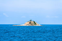 荒岛 库存图片