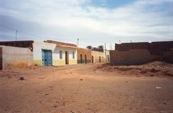 荒废村庄, Tataouina,突尼斯 图库摄影