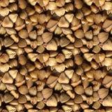 荞麦种子无缝的照片纹理  免版税图库摄影