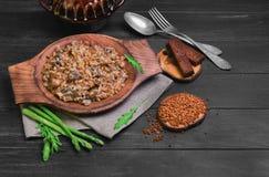 荞麦食物照片 图库摄影