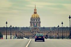 荣军院。巴黎,法国。 图库摄影