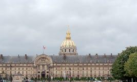 荣军院全国宫殿,巴黎,法国, 免版税库存照片