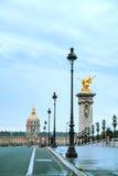 荣军院大厦在巴黎 免版税库存图片