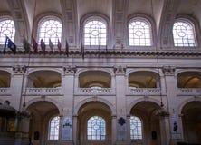 荣军院宫殿,巴黎 免版税图库摄影