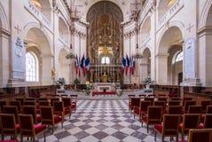 荣军院宫殿,巴黎 图库摄影