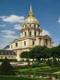 荣军院-博物馆和纪念碑复合体在巴黎,法国 图库摄影