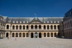 荣军院-巴黎,法国 库存照片