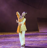 黄荣的军事艺术这跳舞戏曲神鹰英雄的传奇 免版税图库摄影