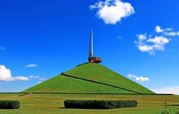 荣耀纪念土墩在白俄罗斯 免版税库存图片