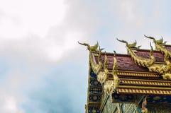 荣Suea十寺庙Wat荣Suea十或蓝色寺庙 免版税库存图片