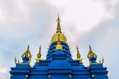 荣Suea十寺庙Wat荣Suea十或蓝色寺庙 库存照片