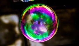 荧光的泡影 免版税库存照片
