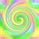荧光的漩涡 向量例证
