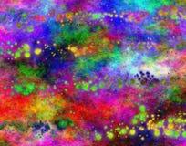 荧光粒状的grunge 向量例证