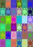 荧光艺术的流行音乐 免版税库存照片