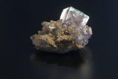 荧石矿物 库存照片