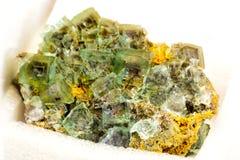 荧石矿物 库存图片