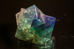 荧石矿物 免版税库存照片